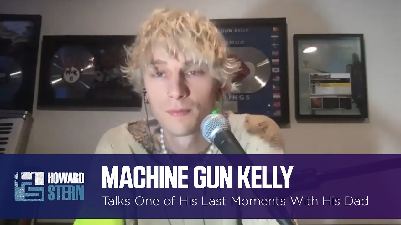 Machine Gun Kelly Shares the Last Thing He Did With His Late Father