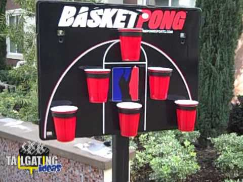Basketpong Beer Pong Game Youtube