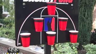 BasketPong Beer Pong Game