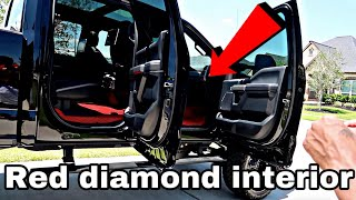Installing Red Diamond floor mats in 2018 F-250