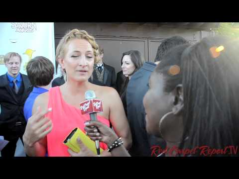 Zoë Bell at the 39th Annual Saturn Awards #TheSaturnAwards @TheRealZoeBell