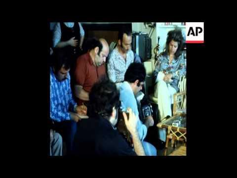 SYND 15-7-72 GHASSAN KANAFANI WIDOW PLEDGES TO JOIN THE PFLP