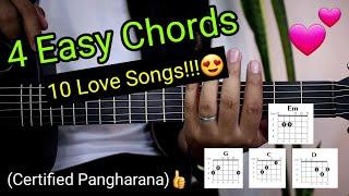 Download lagu 4 EASY CHORDS, 10 LOVE SONGS!!!😍