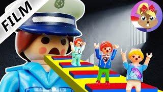 Playmobil Film Nederlands ONTSNAPPEN UIT GEVANGENIS! JULIAN, EMMA, HANNAH REAL LIFE ROBLOX!