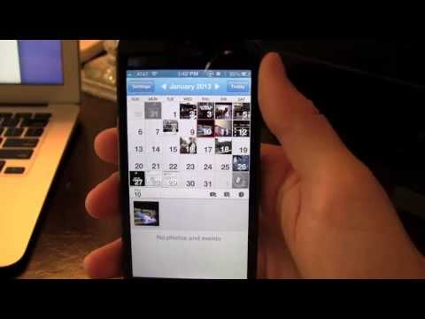 Photocal iPhone App Review