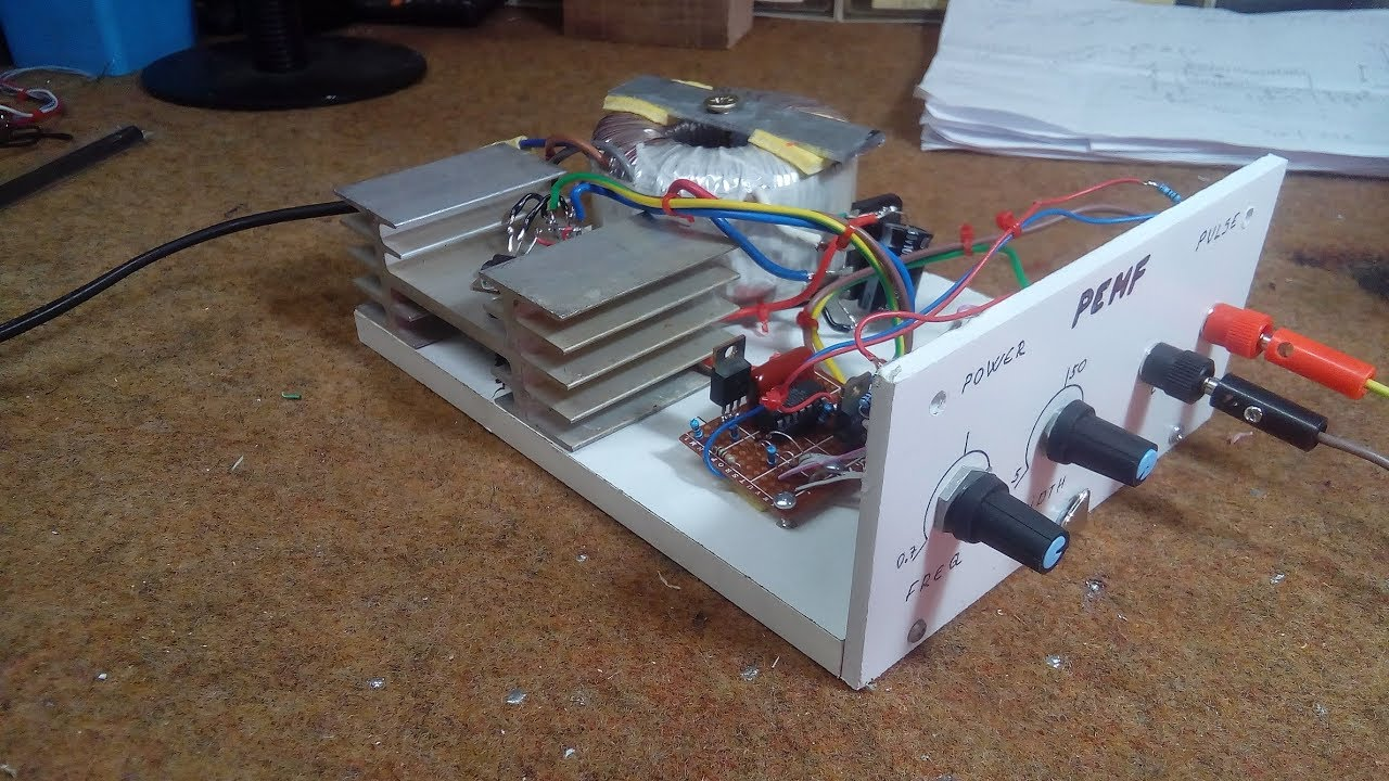 Diy Pemfpulsed Electromagnetic Field Therapy Device Youtube Radio Frequency Circuit Nextgr