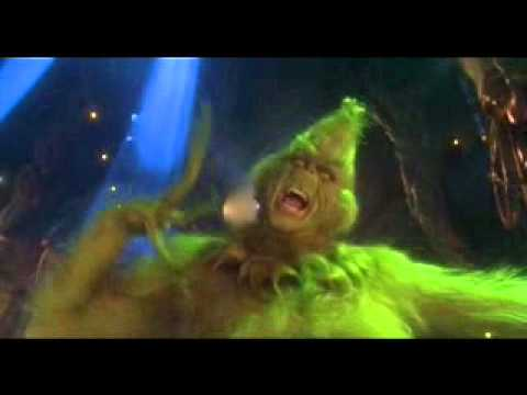 Extrait The Grinch   Jim carrey poster