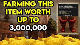 World Of Warcraft Gold Farm 3,000,000 Gold Item Drop