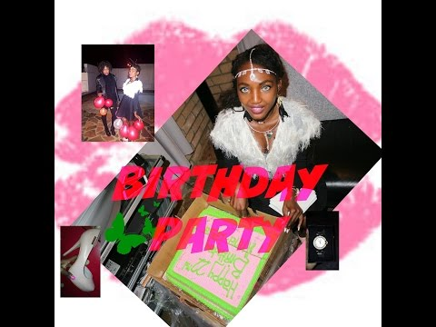 Birthday party/ my Namibian birthday+ A LOT OF DANCING
