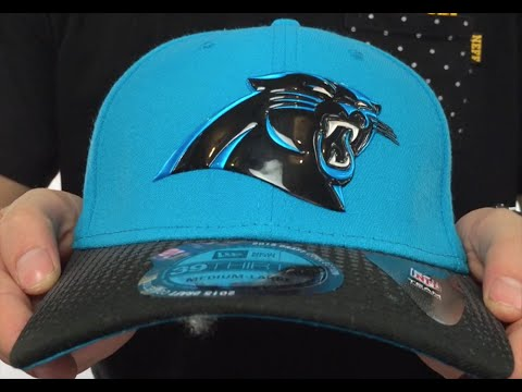 bbfa4ff0bed Panthers  2015 NFL DRAFT FLEX  Hat by New Era - YouTube