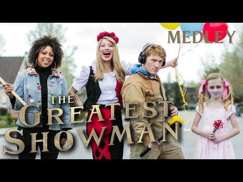 Greatest Showman Medley | Monica Moore Smith - Bri Ray - Stuart Edge - Afton Higbee (cover)