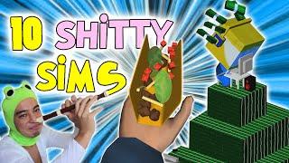 10 SHITTY SIMULATOR GAMES