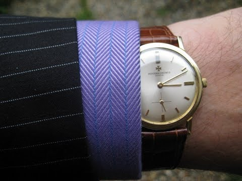 The Thin Dress Watch was so cool - MAD MEN STYLE WATCHES