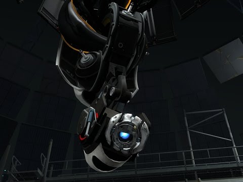 So... I think I Broke Wheatley... ( Portal 2 Glitch)