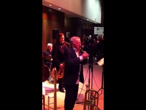 Paddy Moloney jams Danny Boy on tin whistle