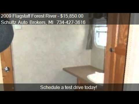 2009 Flagstaff Forest River M-831FKBSS for sale in Livonia,