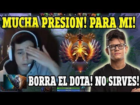 ASADAZOS!!| MATTHEW ES EMPAREJADO CONTRA EL TEAM DE HFN!|TOP RANKED| DOTA 2