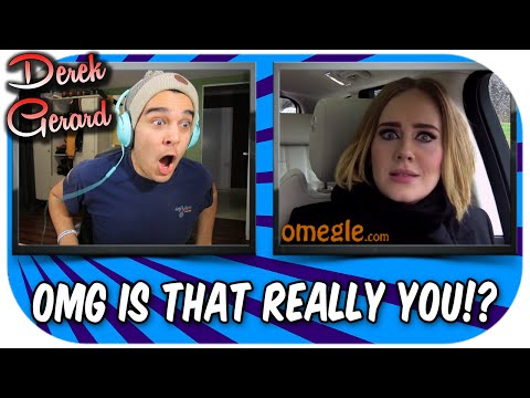 """OMFG IS THIS REAL?! Meeting """"CELEBRITIES"""" on OMEGLE!"""