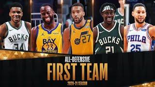 NBA 1st Team All-Defense Top Plays! 🏆