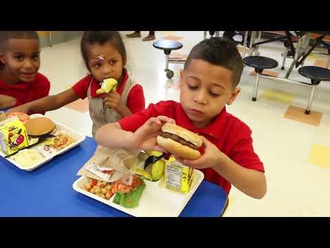 Dorothy I. Height Elementary School  Lunch