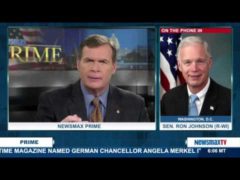 Newsmax Prime | Sen. Ron Johnson discusses why our visa program needs to be changed
