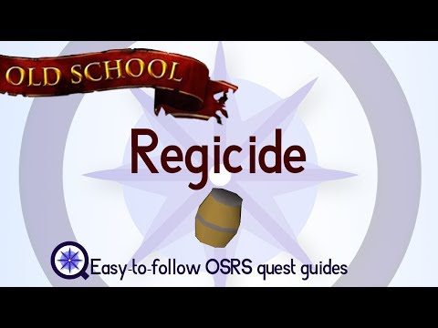 Regicide - OSRS 2007 - Easy Old School Runescape Quest Guide