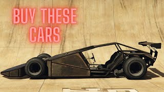 WHY YOU SHOULD BUY THESE 4 CARS IN GTA ONLINE