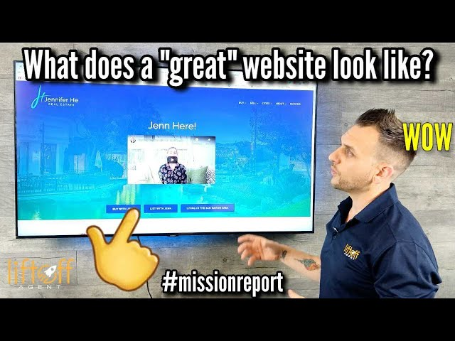 "What does a ""great"" website look like? #missionreport"