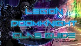 AQW: Legion Doomknight Class Guide! (Enhancements, PVP, SOLO, skill pattern)