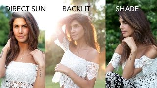 Outdoor Photography For Beginners: Backlit, Shade & Direct Sun thumbnail