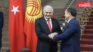Binali Yıldırım'ın Kırgızistan Ziyareti Sona Erdi