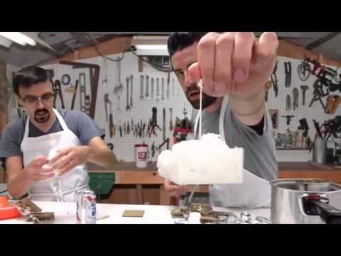 How to make candle wax