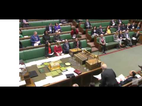 Jo Stevens MP quizzes Secretary for Work & Pensions on Universal Credit