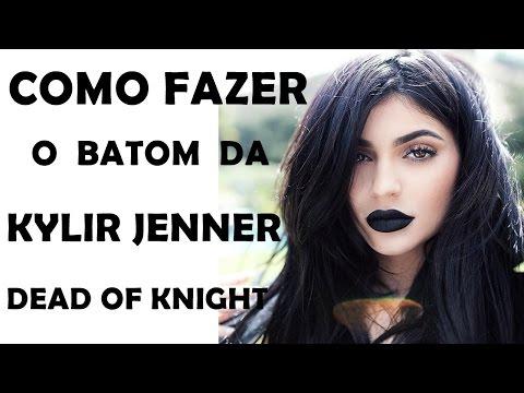 COMO FAZER O BATOM DA KYLIE  JENNER DEAD OF KNIGHT #VEDA 4