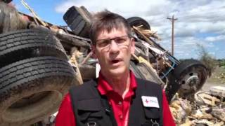 Red Cross Witnesses Destruction in Woodward, Oklahoma