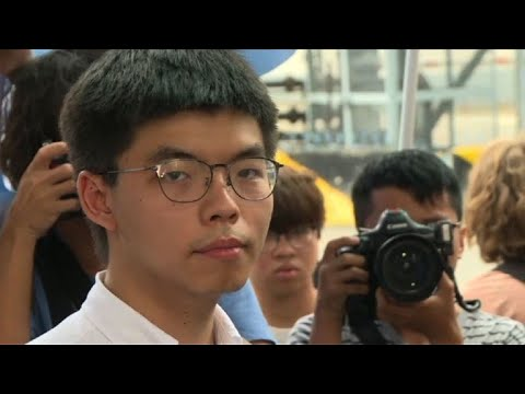 AFP news agency: Hong Kong protest leader Joshua Wong is released from prison | AFP