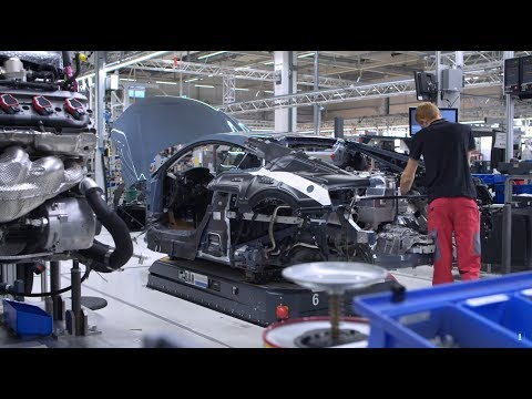 2020 Audi R8: See How The Naturally Aspirated Supercar Is Made