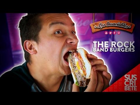 The Rock Band Burgers - Los Insaciables