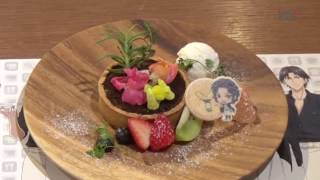 'New Prince of Tennis' Themed Café  at Ikebukuro Parco