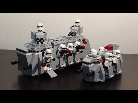 LEGO Star Wars MOC: The Slug (Imperial Troop Transport)