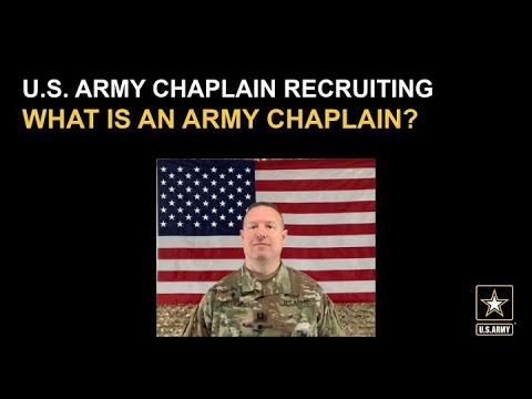 What Is An Army Chaplain?