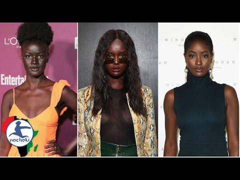 10 Incredibly Beautiful Dark Skinned Women in Africa