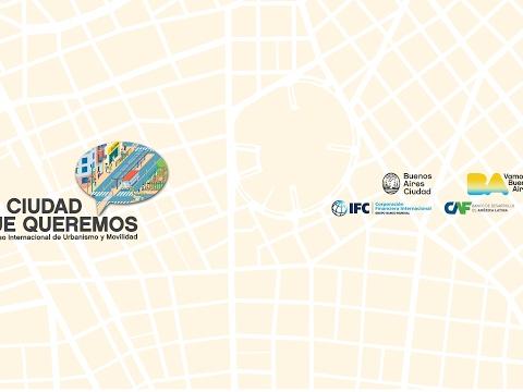 """<h3 class=""""list-group-item-title"""">""""La Ciudad que queremos"""" - Congreso de Urbanismo y Movilidad</h3>"""
