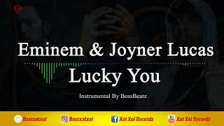 Eminem - Lucky You (Feat. Joyner Lucas) Instrumental (reProd. By BossBeatz)