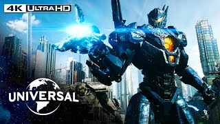 Pacific Rim: Uprising | Defending Tokyo From a Kaiju Attack in 4K HDR