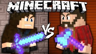 Sword vs. Axe - Minecraft