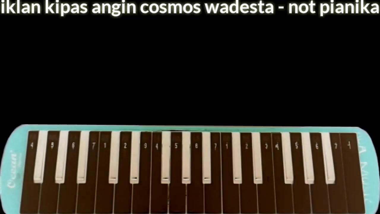 Iklan Kipas Angin Cosmos Wadesta - Not Pianika
