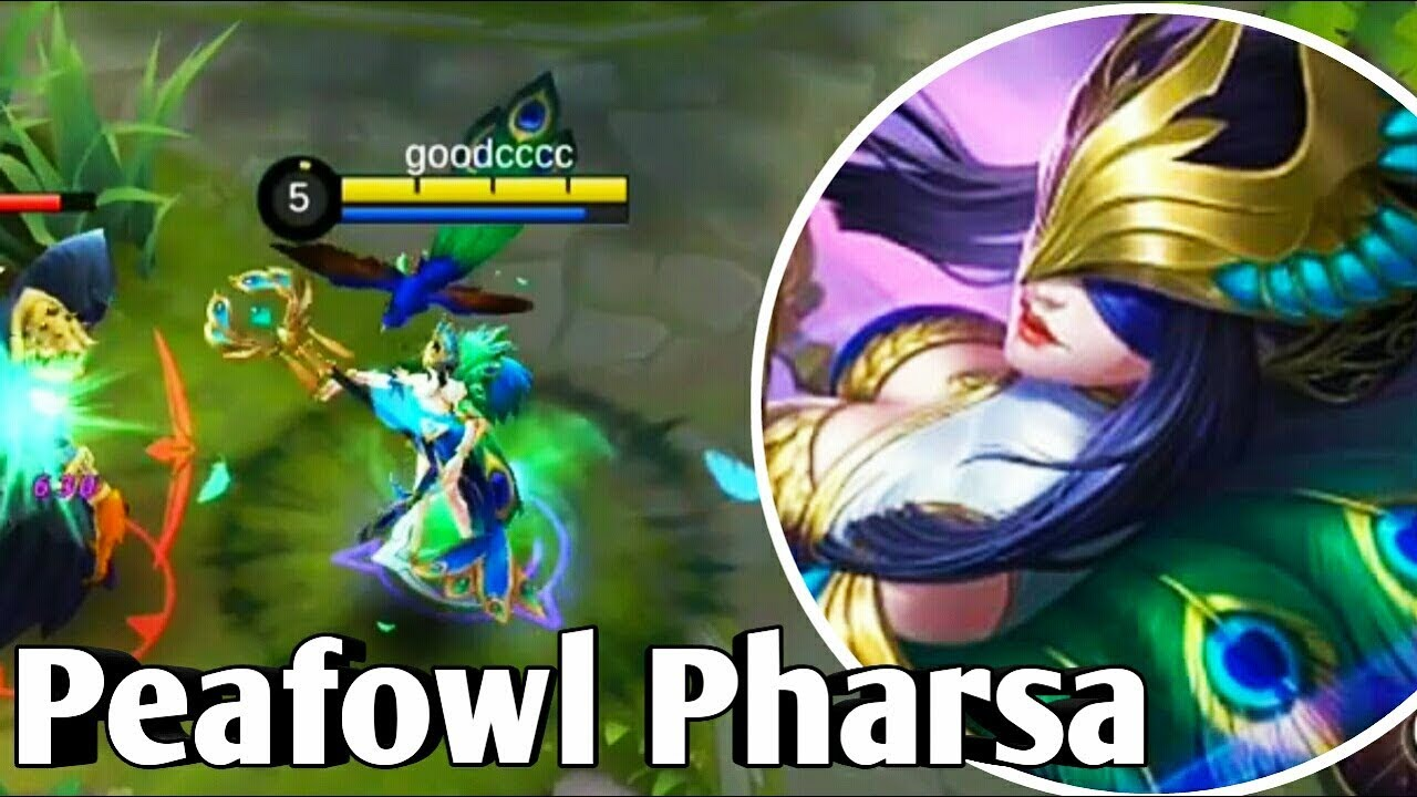 Pharsa New Skin GAMEPLAY Mobile Legends