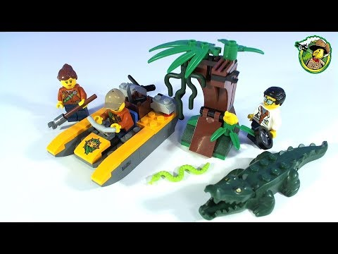 LEGO City Jungle Starter Set Mini Film Stop Motion - YouTube