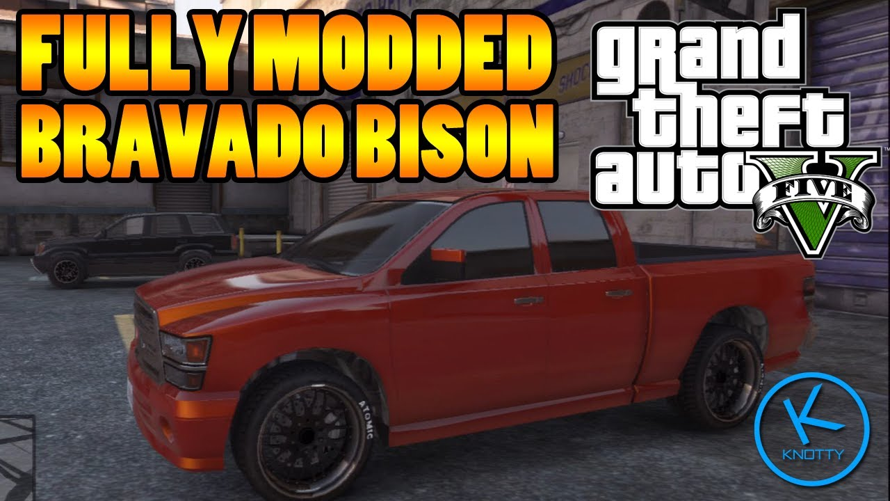 Bravado Bison Gta 5 GTA 5 Fully Mod...